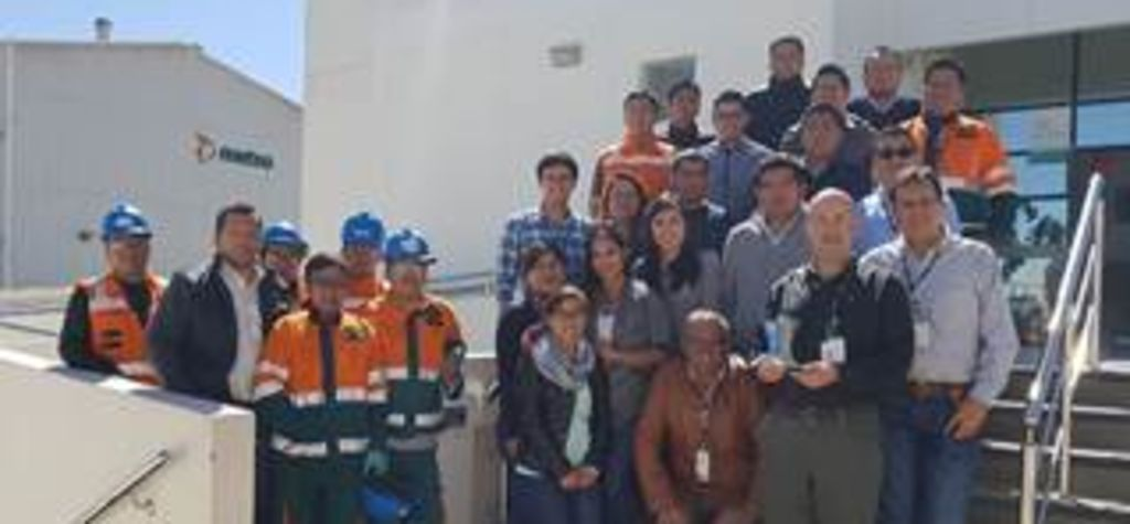 Metso wins Las Bambas safety award