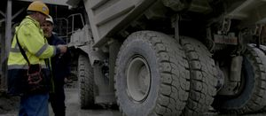 New rigid dump truck tyre from Michelin