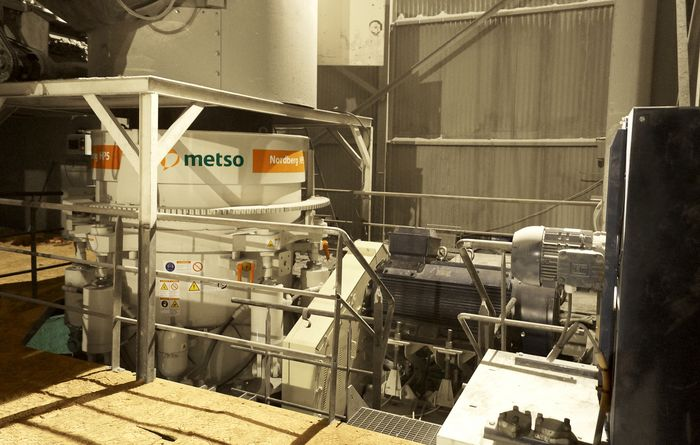 New HP5 cone crusher from Metso