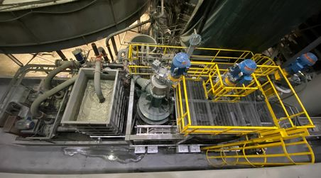 New direct flotation reactors ready at Copper Mountain