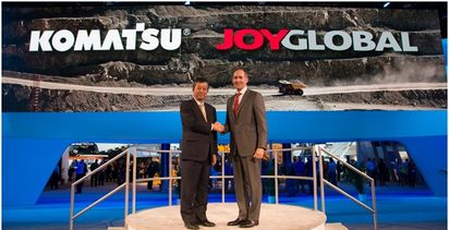 Komatsu gathers together product lines in rebrand