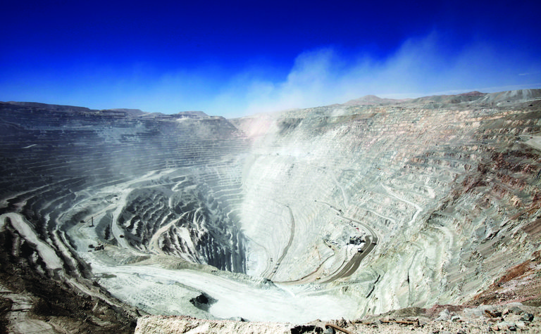 Mining slows down in Chile
