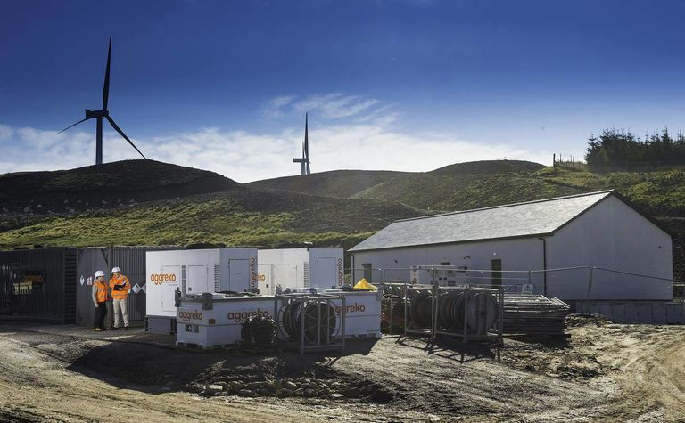Aggreko and Younicos combine solar-diesel hybrid with battery storage