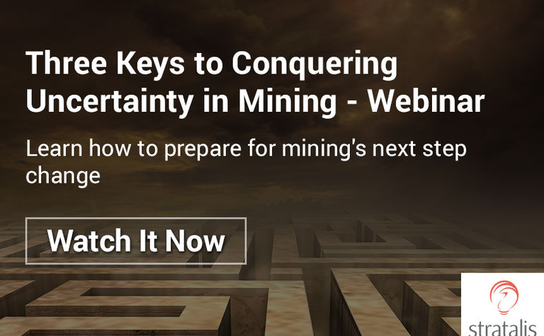 Three Keys to Conquering Uncertainty in Mining - Webinar