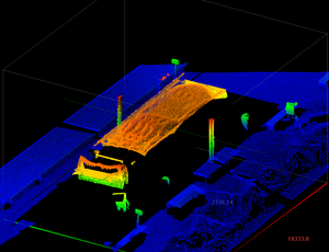 creenshot ase application software of 3 point cloud
