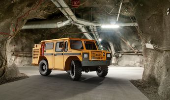 Paus, Danfoss electric mine vehicles go into production