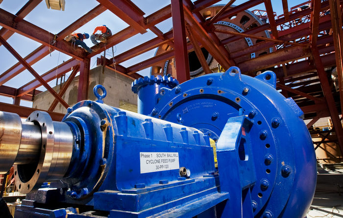 GIW bringing cyclone pumps to Quellaveco