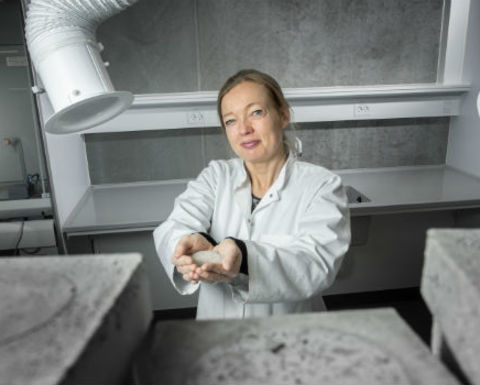 Danish university unveils research reusing mining waste for cement