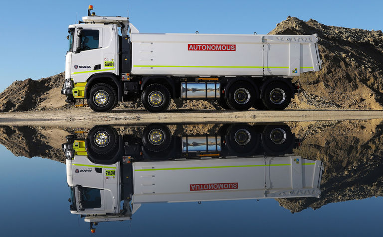 Scania and Rio test autonomous trucks in WA
