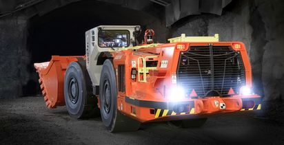Sandvik stages launch of loaders with low-emission engines
