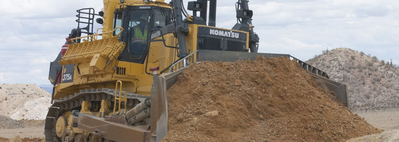 Introducing the Komatsu D375A-8