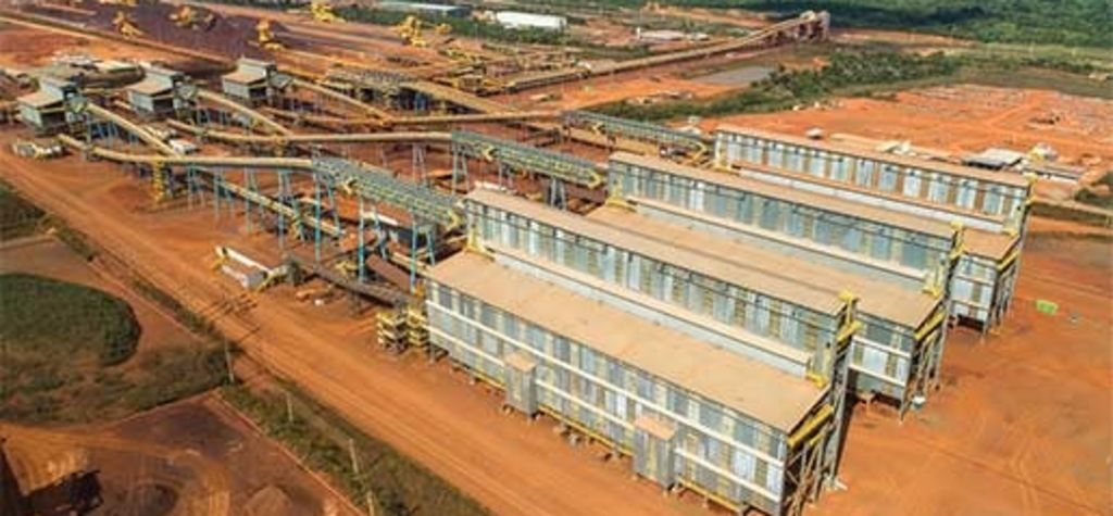 Vale funds dry processing plant