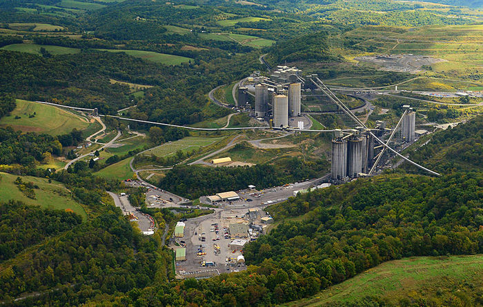 Consol Energy primarily mines coal from the prolific Pittsburgh 8 seam