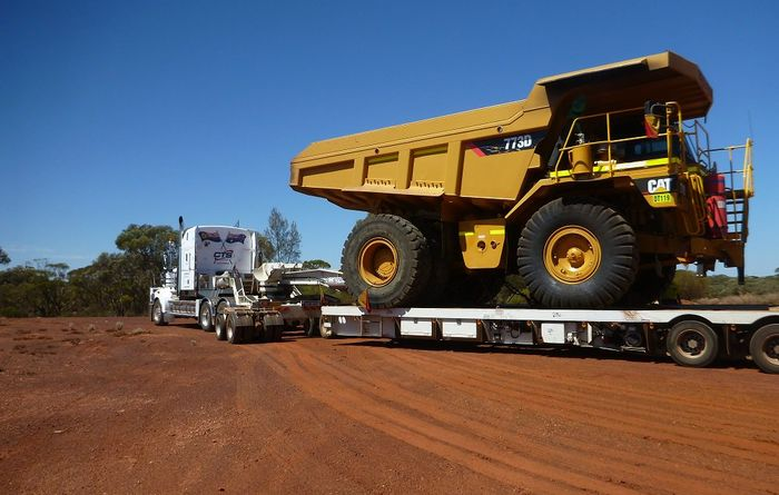 Mining fleet arrives at Grants Patch