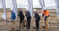 The sod turns at Kemeron lithium plant