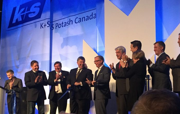 K+S opens new potash mine