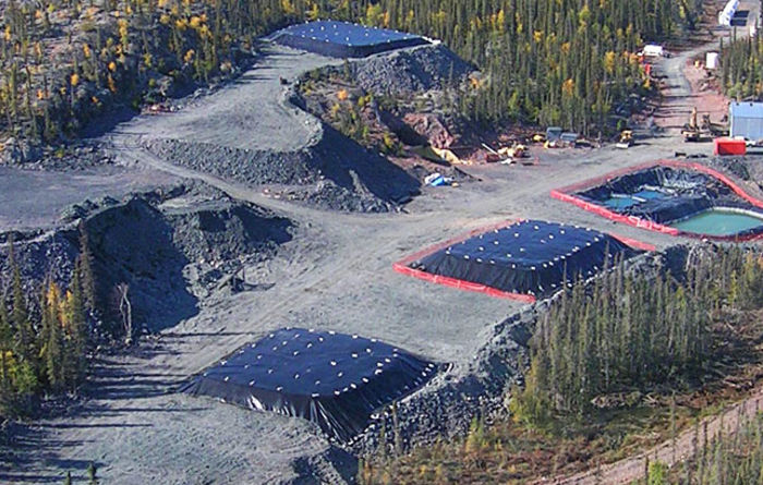 Carbon challenges remote Canadian mines