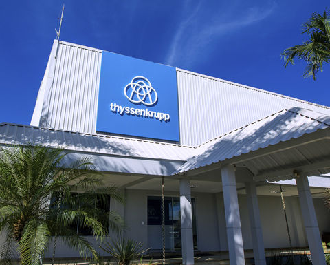 thyssenkrupp expands service network in Brazil