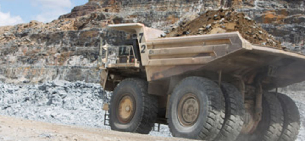 BHP recycling truck tyres in Oz