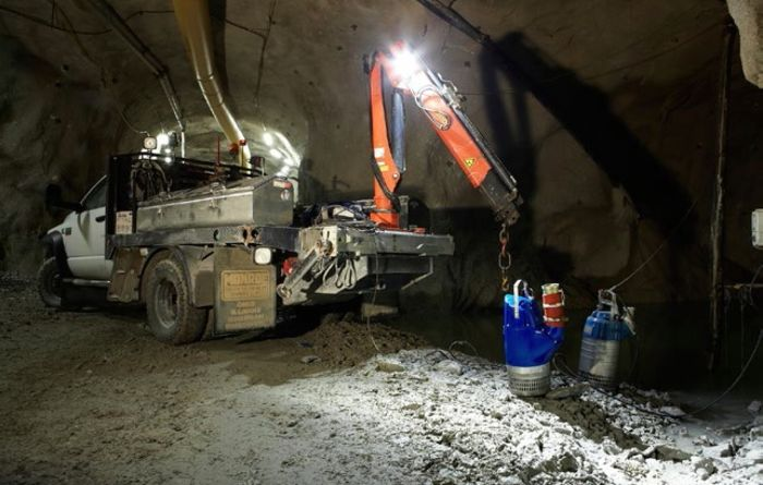 Garpenberg finds economical drainage solutions underground