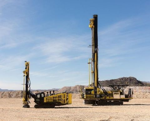 Komatsu invests in surface drills