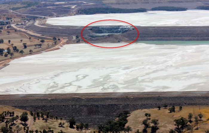 Tailings dam breach closes Cadia