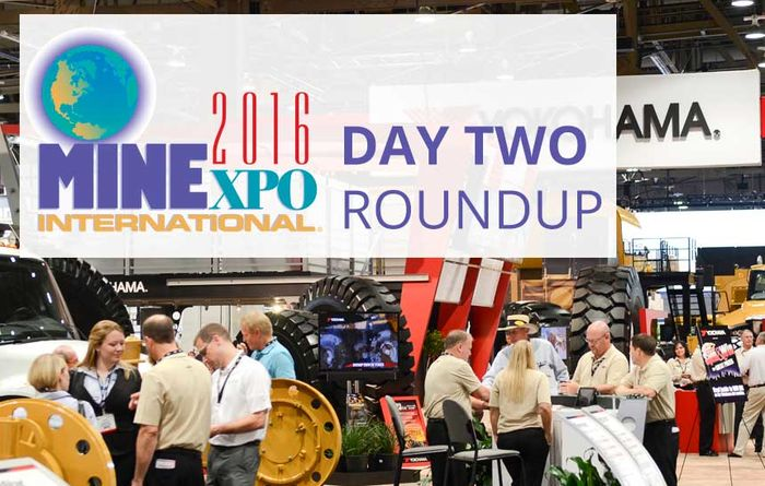 Live from MINExpo 2016: Day 2