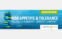 On-demand webinar: Risk Appetite & Tolerance
