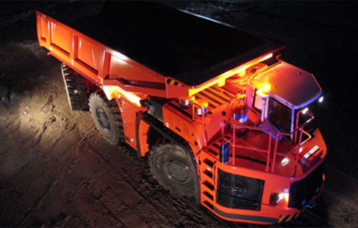 Sandvik delivers trucks to Mt Lyell