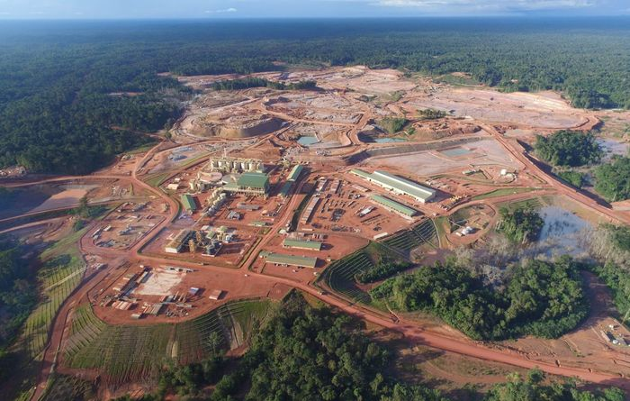 Newmont's Merian making tracks