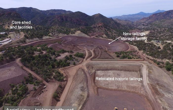 Cementation bags Arizona Mining contract