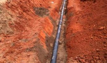 Selecting pipes for dewatering
