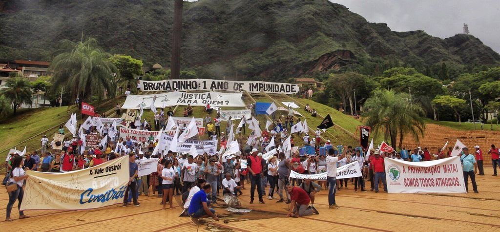 March in Brazil to mark year since fatal dam collapse