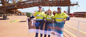 Fortescue meets ore shipping milestone