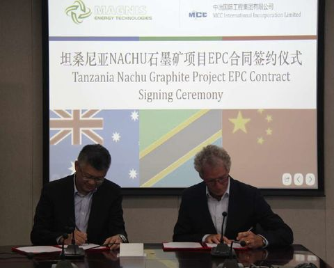 MCC selected for Nachu graphite project