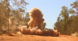 Alternative emulsion explosive aces detonation trials