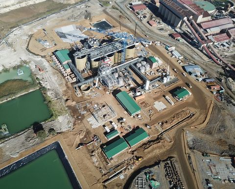 Pan African restarts tailings plants