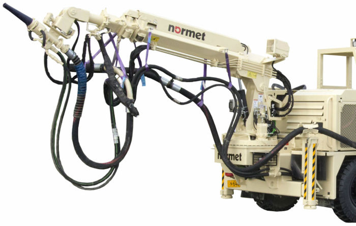 Normet reveals new concrete sprayer