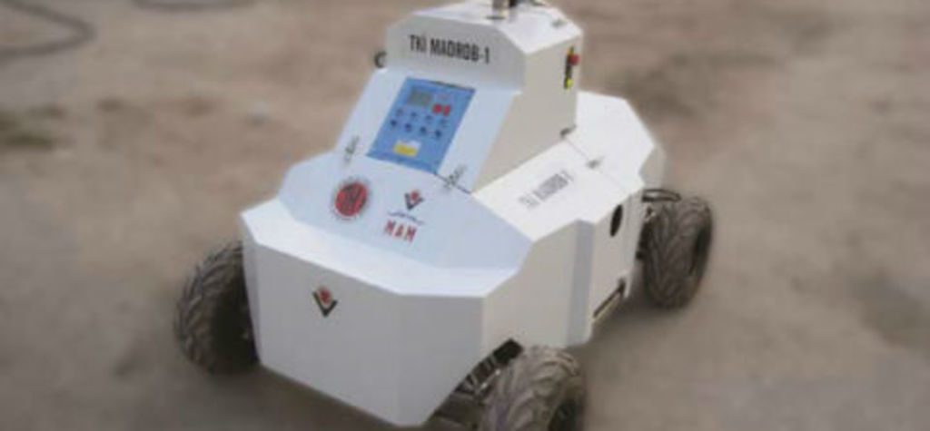 Sentro 8 selected for mine rescue robot