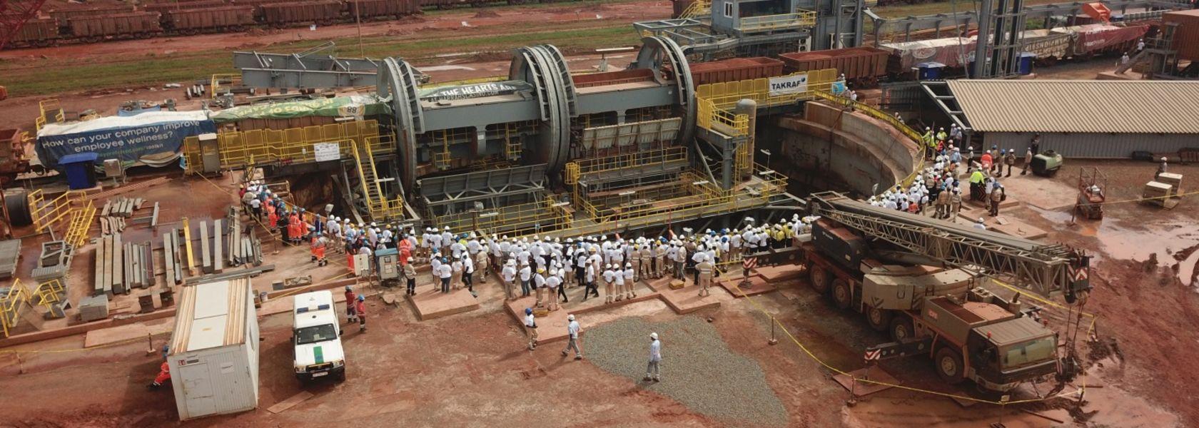 Fluor helps CBG bauxite project achieve milestone - Mining Magazine
