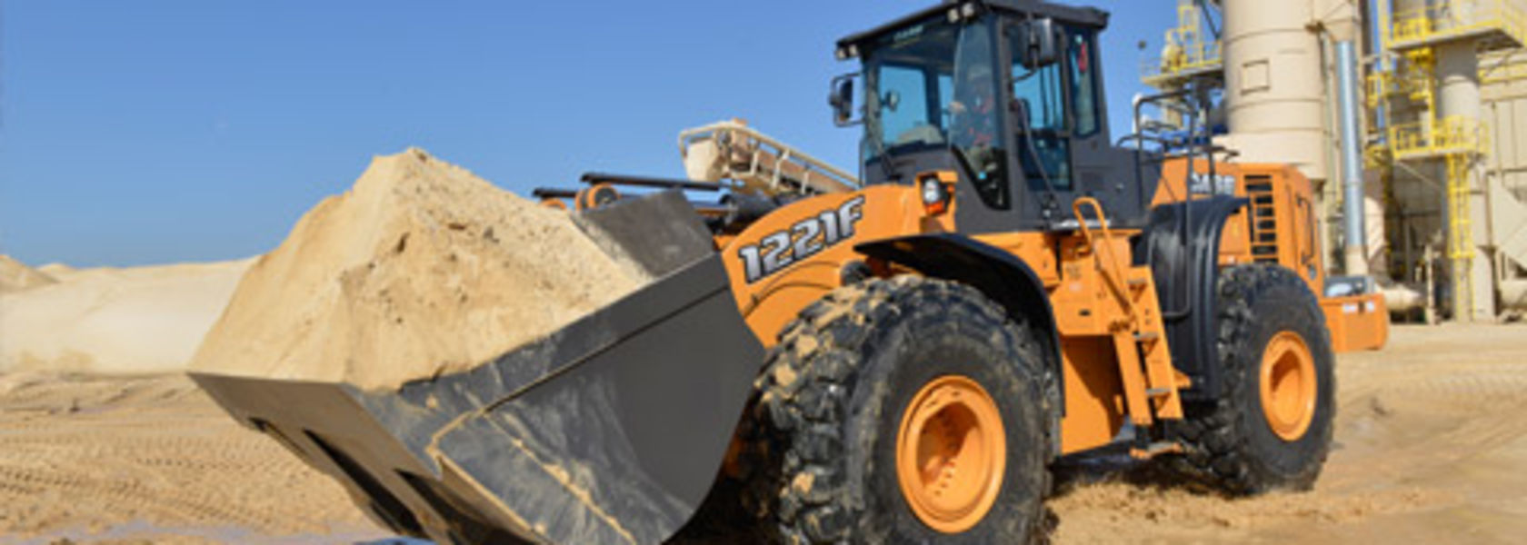 CASE introduces 1221F wheel loader