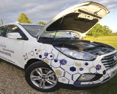 Fuel cell extenders to get Paris showing