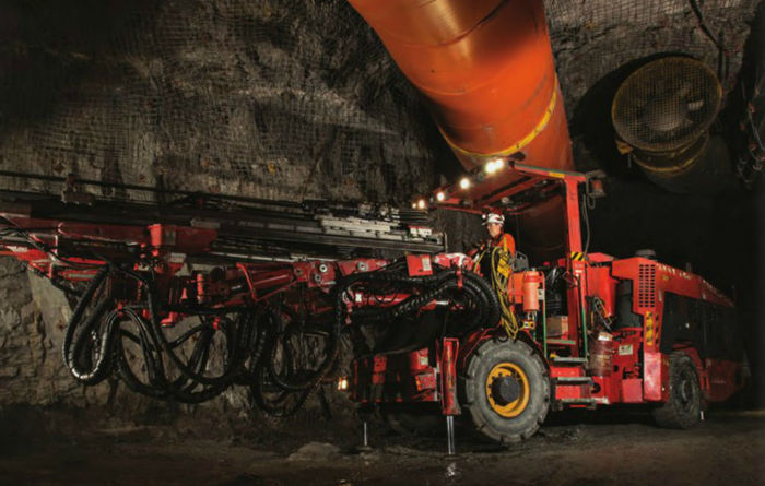 Goldcorp takes electric vehicles underground