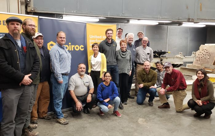 Epiroc donates drill to Colorado School of Mines