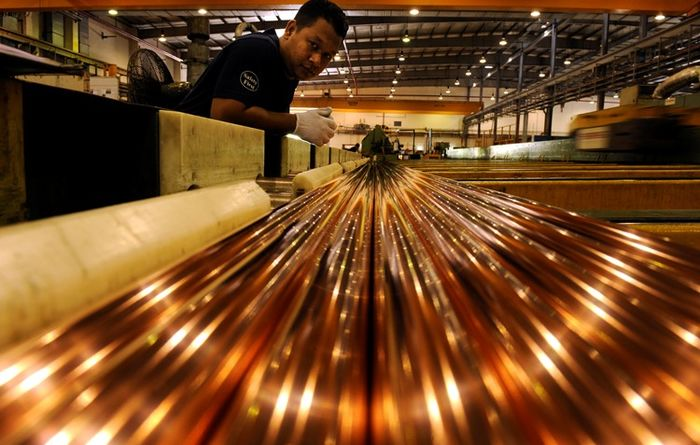 Complex copper processing becomes more urgent