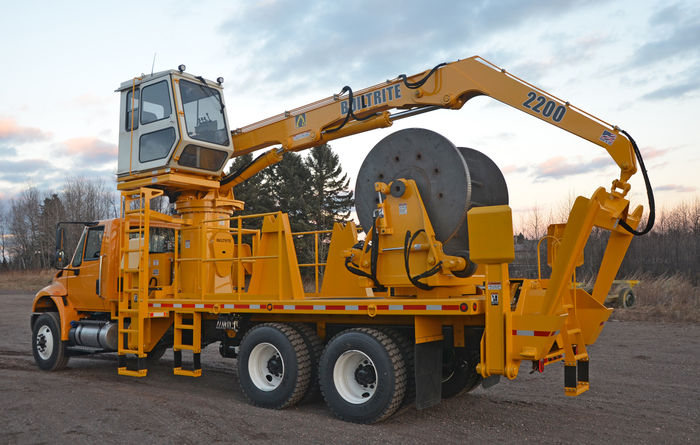 New Builtrite 2200-CRH cable reel handler