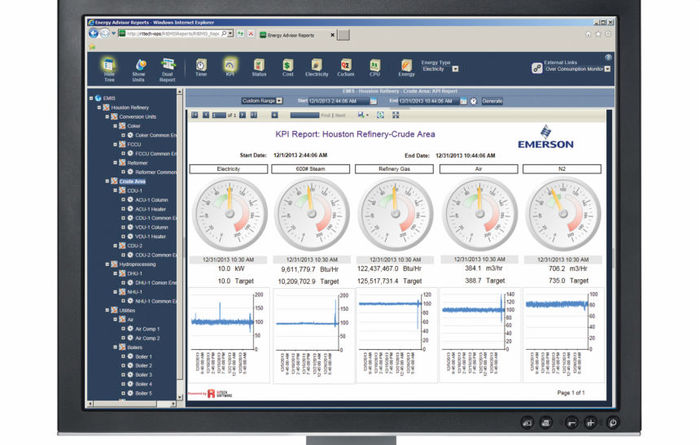 Emerson launches real-time energy management