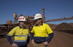 Rio Tinto project to replace stackers at Paraburdoo