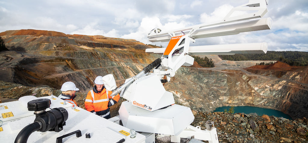 GroundProbe launches new radar tech