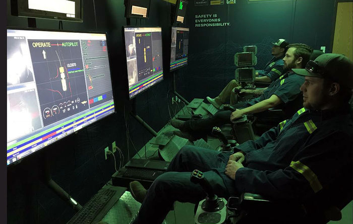 Caterpillar, Newmont develop underground automation tech